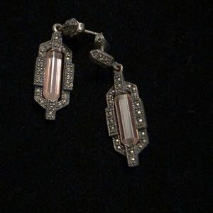 Marcasite antique looking earrings